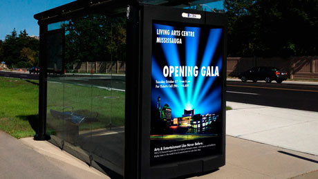 Living-Arts-Centre-Mississauga-Advertising-Bus-Shelter-Feature
